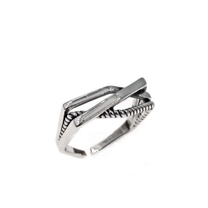 Wires Ring 925